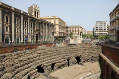 Teatro Romano in Catania (Helgoland01) Tags: catania sicilia italia italien sizilien römer romans theater