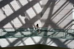 In the shadows (stephencharlesjames) Tags: girl woman shadows art gallery ottawa canada