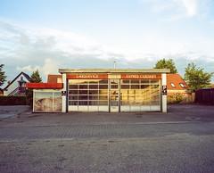 Garage (Christopher Magni Kjerholt) Tags: film analog herning denmark bronica gs1 kodak portra 160vc