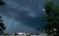 LIghtening Strikes (Anna Gurule) Tags: lightening storm skies stormy clouds cloudyskies eveningclouds