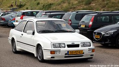 Ford Sierra RS Cosworth Turbo 1986 (XBXG) Tags: 55fzvj ford sierra rs cosworth turbo 1986 fordsierra zandvoort nederland holland netherlands paysbas youngtimer old german classic car auto automobile voiture ancienne allemande germany deutsch duits deutschland vehicle outdoor