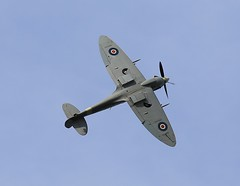 Rolling for Victory one more time (merseymouse) Tags: spitfire aircraft sky display fighter supermarine