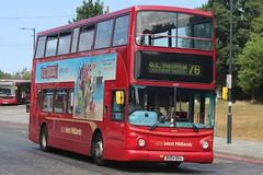 National Express West Midlands Transbus Trident 2/Transbus ALX400 4575 (BU04 BKA) (Yardley Wood) 'Isabelle' (john-s-91) Tags: nationalexpresswestmidlands transbustrident2 transbusalx400 4575 bu04bka solihull route76 hoteltransylvania3