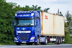 DAF XF116.510 / Rolinski (PL) (almostkenny) Tags: lkw truck camion ciężarówka container daf xfeuro6 xf116 ssc superspacecab pl polska poland rolinski hp500 xf116510 wot35145