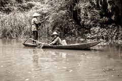 Pêcheurs (Mat Distef) Tags: vietnam water portrait river nature light travel