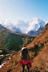 . (Careless Edition) Tags: photography film mountain nepal himalaya nature landscape sagarmatha gokyo trek hike