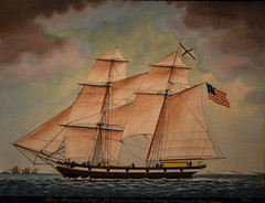 James Evans - The Brig Georgiana, 1846 at The Art Museums of Colonial Williamsburg VA (mbell1975) Tags: williamsburg virginia unitedstates us james evans the brig georgiana 1846 art museums colonial va museum museo musée musee muzeum museu musum müze museet american painting vessel boat ship