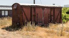 VWV 784483 (JOHN BRACE) Tags: vwv 784483 british rail vanwide built 1962 derby body is seen grounded near dungeness beach