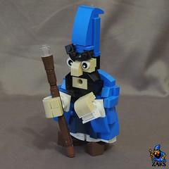 The Evil Sorcerer Zaks (Space Glove) Tags: lego dizzy wizard
