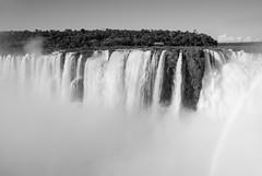 Iguazu Falls (Mariene Valesan) Tags: iguazu iguazufalls iguazunationalpark iguacu iguaçu highcontrast bw bnw blackandwhite argentina landscape nature naturelovers naturephotography natureshot travel travelphotography travelphoto water waterfall