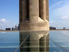 Base of the Liberty Memorial (mdhorns) Tags: travel kansascity missouri museum memorial architecture