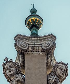 Close-Up Stonework - The Sukiennice (Historic - Medievel Cloth Hall) Old Market Square - Krakow Old Town (Olympus OMD EM1 II & M.Zuiko 12-100mm f4 Pro Zoom)
