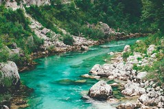 aquamarina. (Nicole Favero 游婉情) Tags: verde river nature landscape love amazing mine cute cool awesome forever followme crazy slovenia lovely places paesaggi outdoor photography nikon nikond5000 camera reflex like nicolefavero waterfall slap fiume blue aquamarina colors lens
