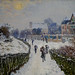 Claude Monet, Boulevard Saint-Denis, Argenteuil, in Winter, 1875 5/12/18 #mfaboston