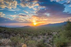 gates pass 7-5-18-1-4 (melaniemarie83) Tags: sunset arizona tucson gates pass landscape desert saguaro park nature canon rebel t6