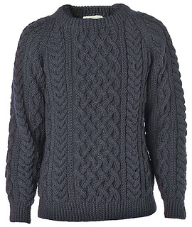 Inverallan navy wool sweater