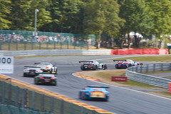 Traffic at the start, 24 hours of Spa Francorchamps 2018 (Thibault Gaulain) Tags: total 24 24h heures hours race racing course rennen voiture car auto wagen gt3 blancpain sro ratel spa francorchamps belgium belgique sunny sport sportscar endurance team pro proam am mercedes amg gt bmw m6 combes track circuit nikon d7200 intercontinental challenge