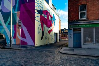 DUBLIN STREET ART IN SMITHFIELD [BURGESS LANE - HAYMARKET]-138647