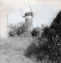 Weybourne Tower mill (The original SimonB) Tags: film scanned 1981 norfolk