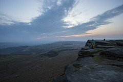 Dizzy Heights (georgehuthart) Tags: hopevalley stanageedge derbyshire canonphotographer dusk sunsets eos5d