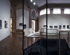 Triptych (Nicolò Zanatta) Tags: venezia venice capesaro museo museum art gallery galleria arte moderna modern ucronia uchronia model plastico allestimento exhibition
