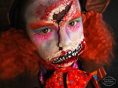Mad Hatter zombie (Paula McManus) Tags: paulamcmanus olympus portrait 20mmf17 panasoniclumix zombie zombiechild madhatter costume makeup