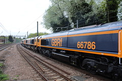 66786 Hornsey (ED932/AJ-G) Tags: 66786 66777 66723 66778 47749 gbrf gbrailfreight colasrail cityoftruro annette chinook dariuscheskin harringay greatnorthernroute train loco locomotive