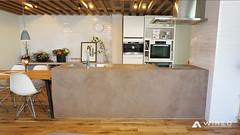 mortex2 (WIRED Co., Ltd.) Tags: wired walldesigncompany mortex bar kitchen lounge ワイヤード モールテックス 特殊塗り キッチン カウンター 店舗 interior shop