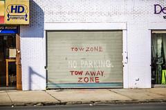 Shut it Down (Thomas Hawk) Tags: america brooklyn coneyisland nyc newyork newyorkcity noparking usa unitedstates unitedstatesofamerica