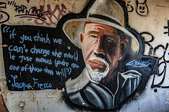 If You Think... (Constantinos_A) Tags: wall art sony alpha a6300 drapetsona machine athens fertilizing factory rust iron pressure old room abandoned industrial decay foto arte