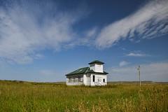 Still Here (cutthroatsrule) Tags: montana abandoned schoolhouse white