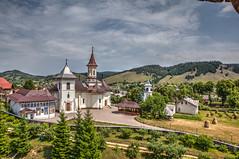 vue de la tour du monastère de Humor, Roumanie (patrick Thiaudiere, thanks for 1,5 million views) Tags: romania