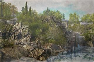 The Waterfalls of Plitvice, Croatia (virtually)