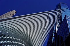World Trade Center - Four 5 (luco*) Tags: usa united states america étatsunis damérique new york city nyc manhattan downtown world trade center four 4 path building édifice gratteciel