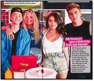 Madison Beer in Alli Simpson Music Video Article
