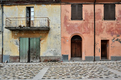 Montenovo (lorenzog.) Tags: montenovo house windows doors romagna montiano emiliaromagna italy abandoned colours vividcolours contrast ilobsterit summer aftertherain nikon d700