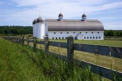 DH Day Farm  HFF (Lumixfan1) Tags: happyfencefriday hff barn fence