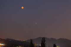 Mars and Bloodmoon (nils tiburon) Tags: bloodmoon blutmond eclipse mondfinsternis axarquia laviñuela