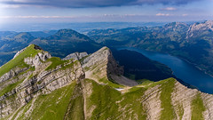 On Top (Silvan Bachmann) Tags: switzerland swiss suisse schweiz schwyz mountain fluebrig diethelm aubrig lake wägital hiking nature landscape breathtakinglandscape ngc drone dji phantom world drones shots life through hole flickr today