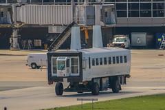 "Dulles ""Plane Mate"" 643 FL (NoVa Truck & Transport Photos) Tags: dulles international airport kiad plane mate mobile lounge transfer vehicle 643 fl"