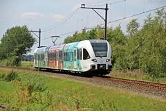 Arriva 10525 Wilhelmsoord (Joff10243) Tags: arriva stadler gtw wildlands emmen wilhelmsoord train trein treinstel trainset emu