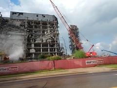 Stairwell (Steve Schar) Tags: 2018 wisconsin madison nikon nikonaw120 hillfarms hillfarmsstatetransportationbuilding demolition stairwell