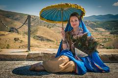 Mujer romana (mariusbucsa) Tags: retrato mujer romana bilbilis calatayud roma aragón es españa nikkor nikkor35mm18g nikond5600 nikon
