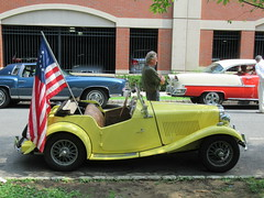 MG Roadster, 2018 Independence Day Parade, Montclair, NJ (smaginnis11565) Tags: mg roadster britishcar independenceday parade montclair newjersey essexcounty 7418