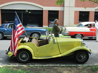MG Roadster, 2018 Independence Day Parade, Montclair, NJ