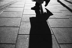 Tread Softly 334 365 (ewitsoe) Tags: 50mm canoneos6dii europe polska warszawa erikwitsoe poland summer urban warsaw monochrome blackandwhite mono city shadow feet pedestrian sun light shadows longshadows life live