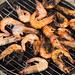 Shrimp BBQ at Ao Sane beach, Phuket island, Thailand