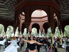 Whirling derviches at Morisco Kiosk (brisa estelar) Tags: whirling derviches sufi spiritual morisco art architecture kiosko people dancing cdmx mexico orden yerrahi halveti sema mystical dance