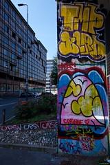 IMGP5741 Love Corinne (Claudio e Lucia Images around the world) Tags: sigma street art graffiti milano porta garibaldi tag muro murales murale wall paintedwall sigma1020 pentax pentaxk3ii pentaxart corinne overpainted paintedover