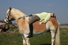 Camille 26 (The Booted Cat) Tags: sexy teen model girl blonde long hair riding ridingboots boots horse equestrienne